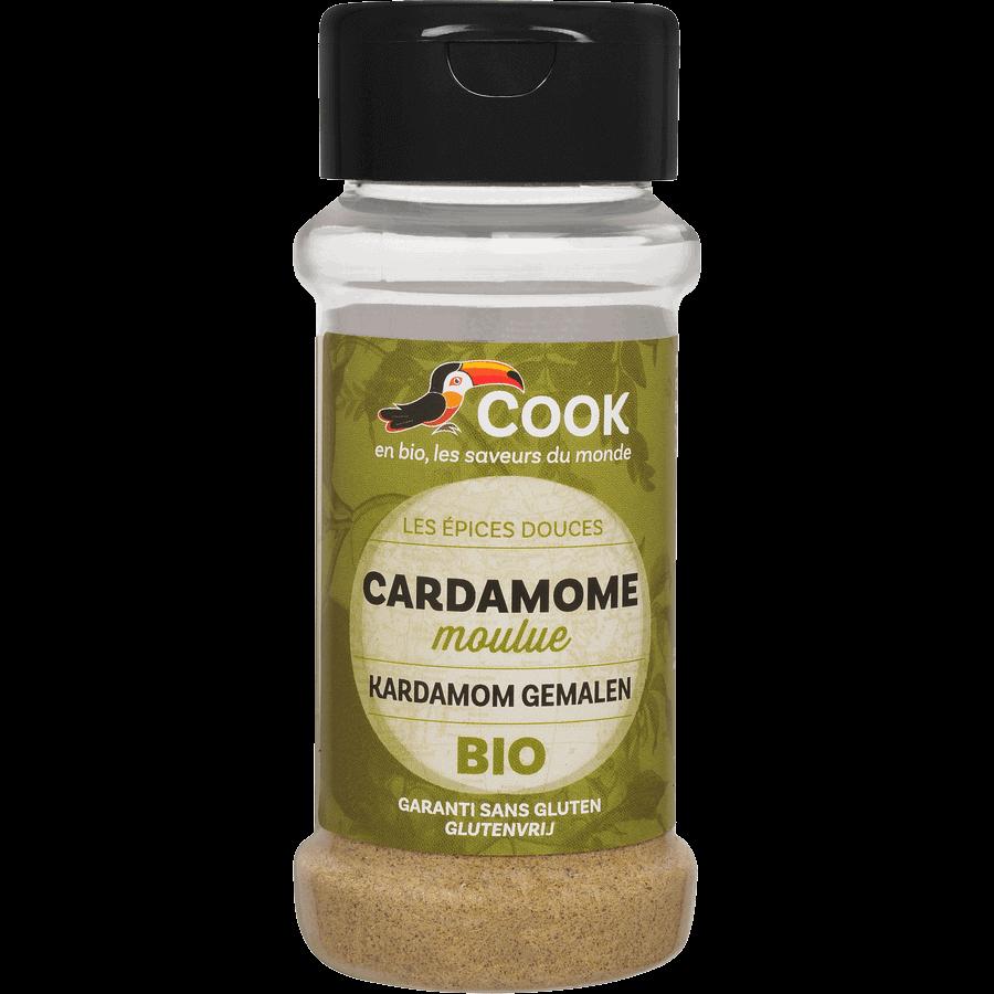 Cardamome Moulue Cook 100ml Garanti Sans Gluten
