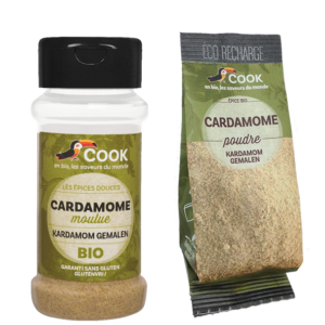 Cardamome Cook 2 Produits