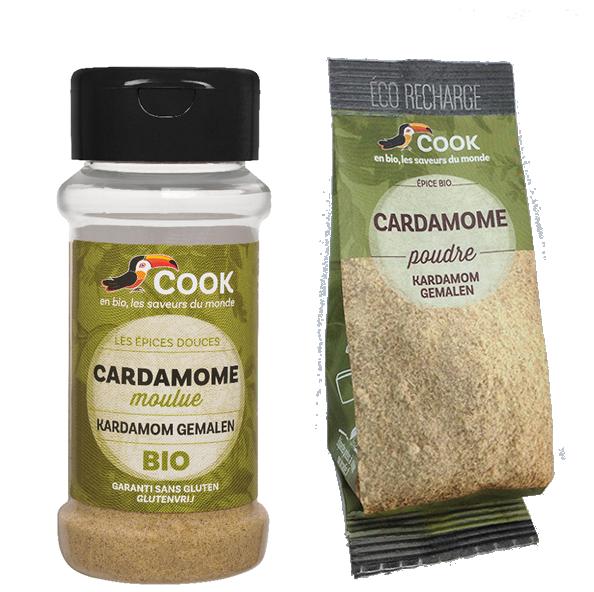 Cardamome Cook 2 Produits
