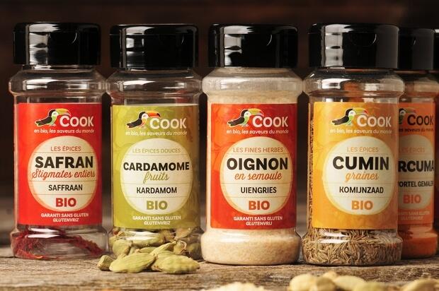 Épices Aromates Bio COOK