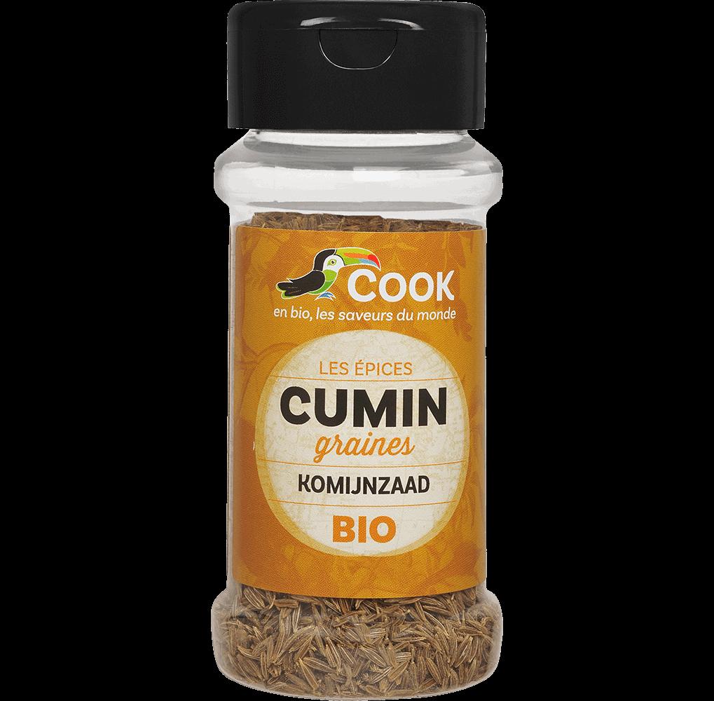 Cumin bio graines entières Cook 100ml
