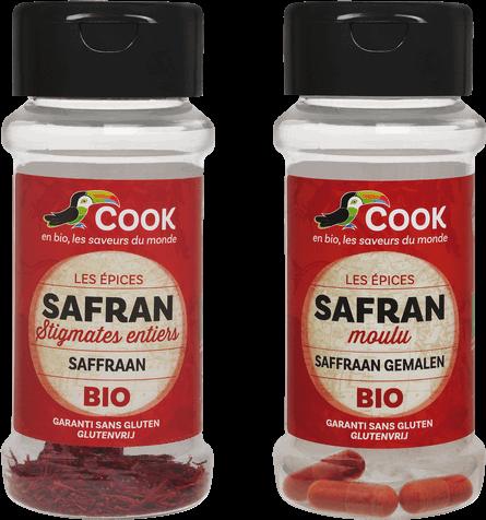 Safran Cook Poudre moulue Stigmates entiers