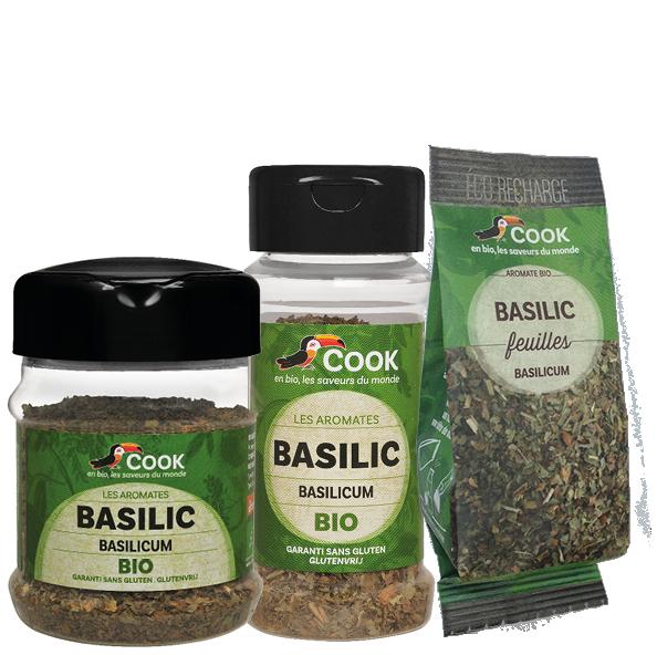 Basilic Cook 3 produits