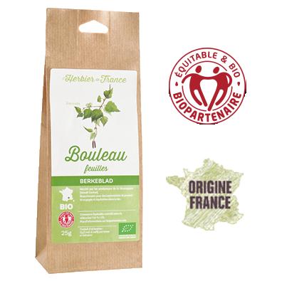 Bouleau L'Herbier De France Bio Equitable Biopartenaire Origine France