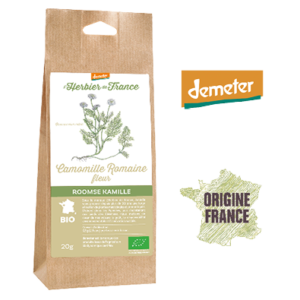 Camomille Romaine L'Herbier De France Bio Demeter Origine France