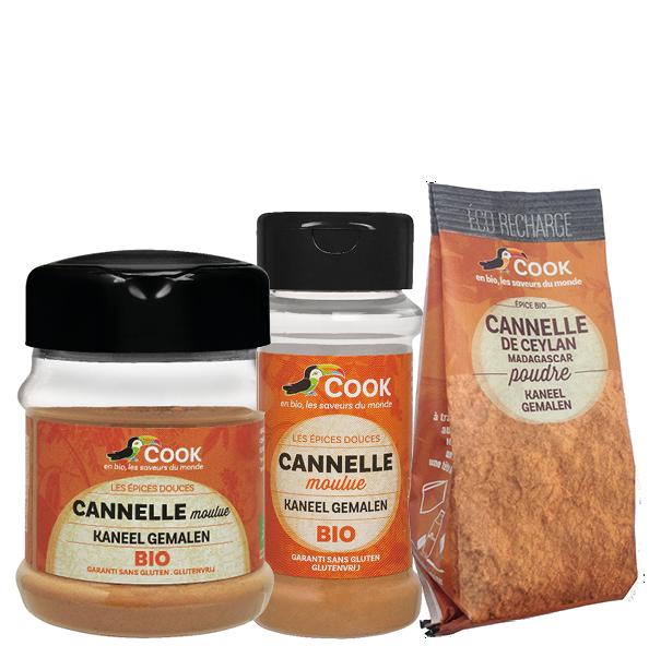 Cannelle Cook Moulue 3 Produits