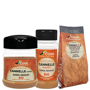 Cannelle Cook Moulue 3 produits