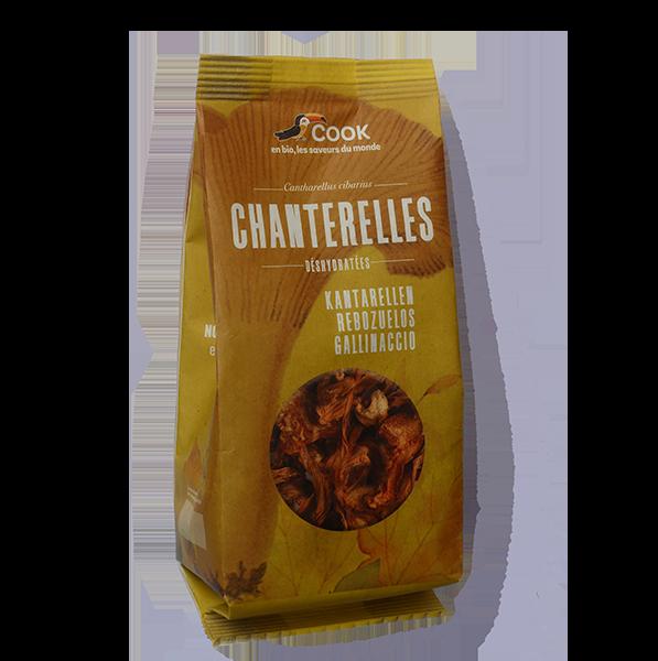 Chanterelles séchées Cook Nouveau Packaging 600x600