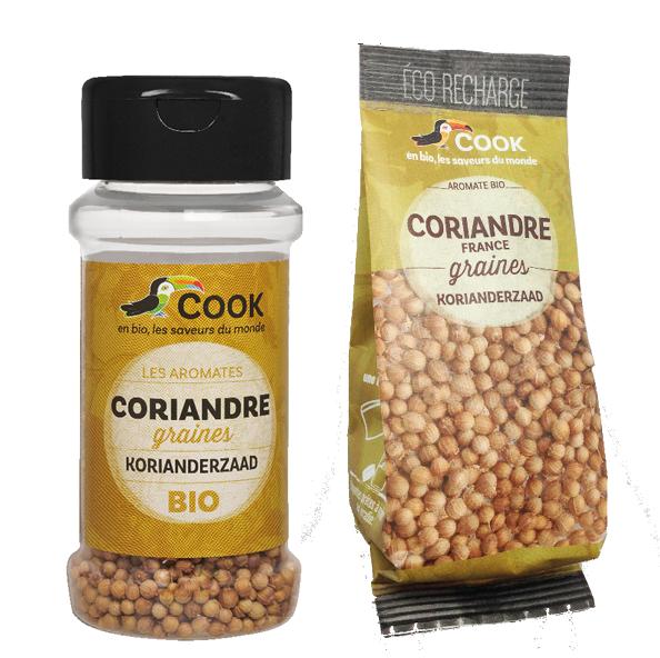 Coriandre Cook 2 produits
