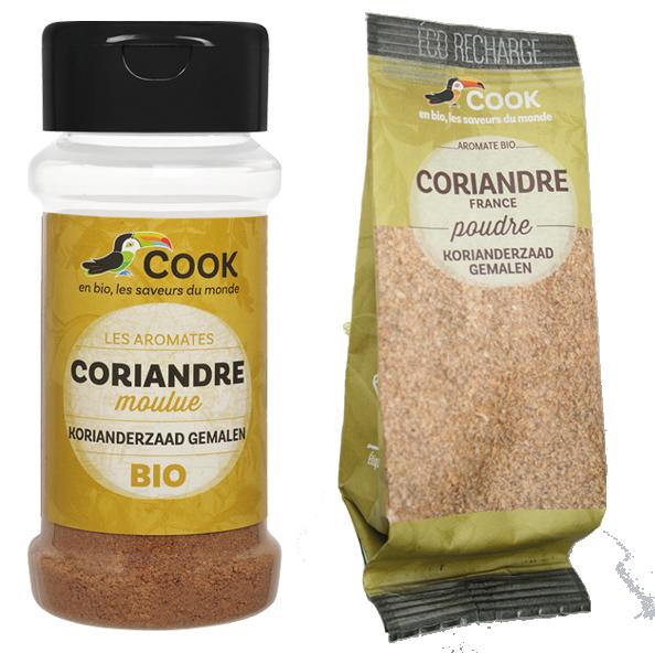 Coriandre Poudre Cook 2 produits