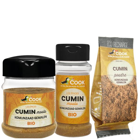 Cumin Poudre Cook 3 produits