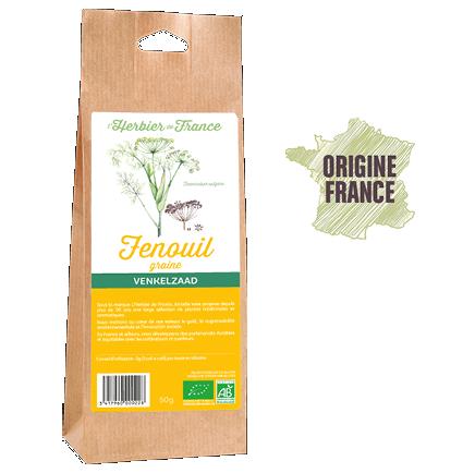 Fenouil Graines L'Herbier De France Bio Origine France