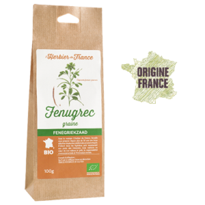 Fenugrec L'Herbier De France Bio Origine France