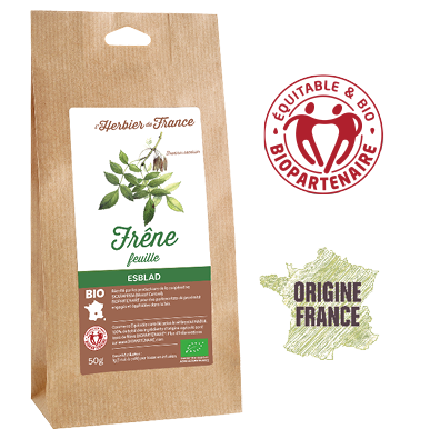 Frêne L'Herbier De France Bio Equitable Biopartenaire Origine France