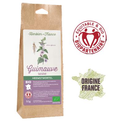 Guimauve L'Herbier De France Bio Equitable Biopartenaire Origine France