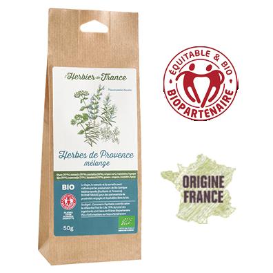 Herbes De Provence L'Herbier De France Bio Equitable Biopartenaire Origine France