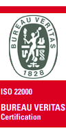 Label Arcadie Certification Bureau Veritas ISO 22000