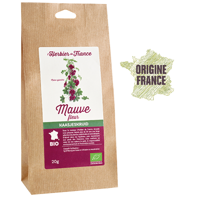 Mauve L'Herbier De France Bio Origine France