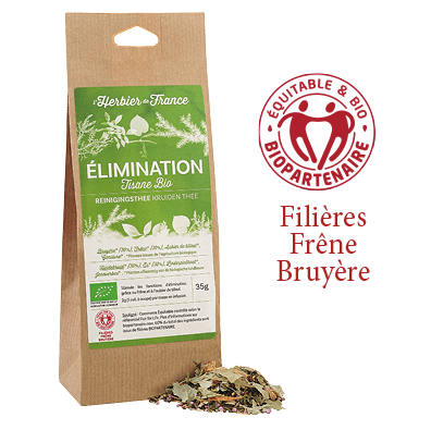 Mélange Elimination L'Herbier De France Bio Commerce Equitable Biopartenaire