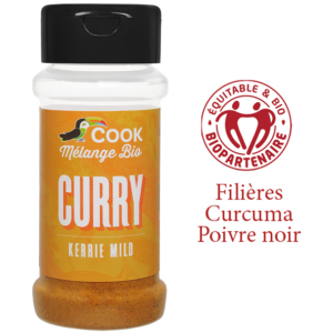 Melange Curry Cook 100ml Bio Equitable Biopartenaire