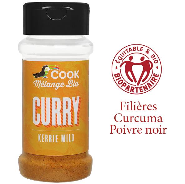 Melange Curry Cook 100ml Bio Equitable Biopartenaire