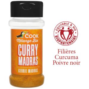 Melange Curry Madras Cook 100ml Bio Equitable Biopartenaire