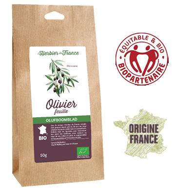 Olivier Feuilles L'Herbier De France Bio Origine France
