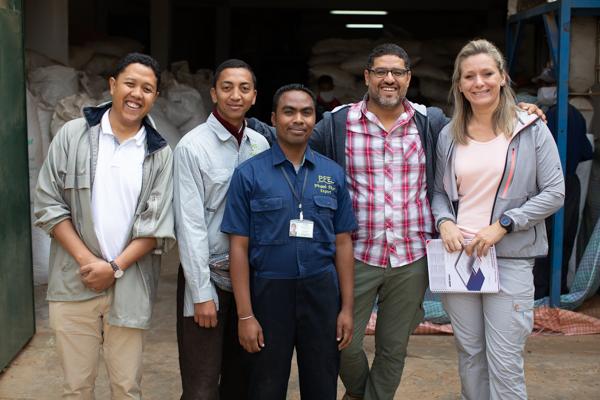 Phael Flor Arcadie Partenariat Madagascar Curcuma bio
