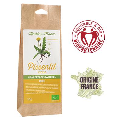 Pissenlit Racine L'Herbier De France Bio Equitable Biopartenaire Origine France