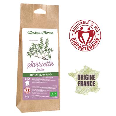 Sarriette Feuilles L'herbier De France Bio Equitable Biopartenaire Origine France