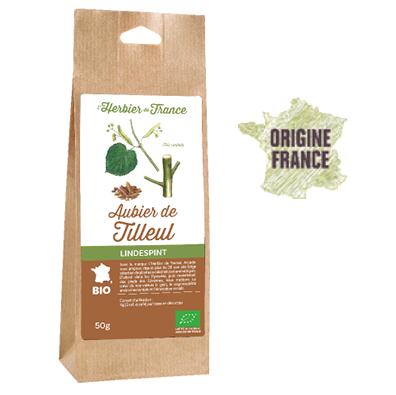 Tilleul Aubier L'Herbier De France Bio Origine France