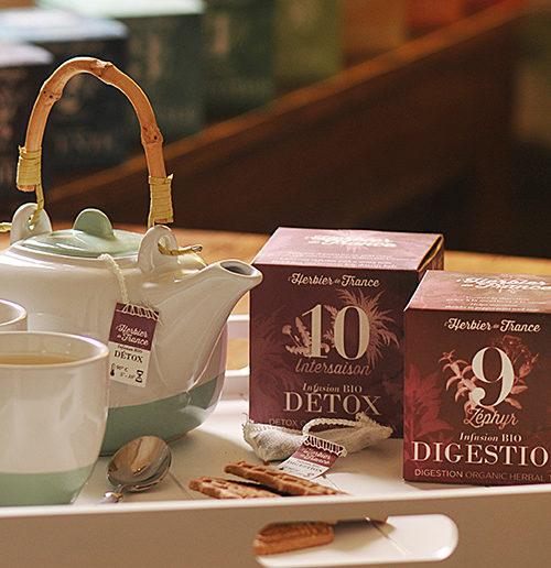 Boites Infusettes Tisanes L'Herbier De France