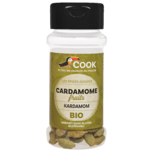 Cardamome Fruits Entiers Cook 35g