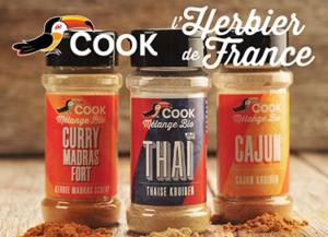 Nouveautés Produits Bio Cook L'Herbier de France