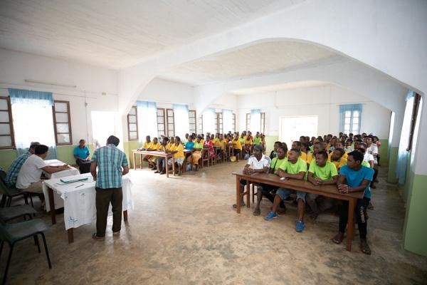Reunion Annuelle Producteurs Curcuma Madagascar