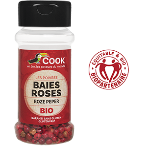 Baies Roses Entieres Cook 100ml Bio Equitable Biopartenaire Madagascar