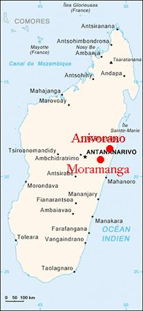 Zones production curcuma gingembre cook Madagascar