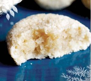 biscuits moelleur à la fleur d'oranger