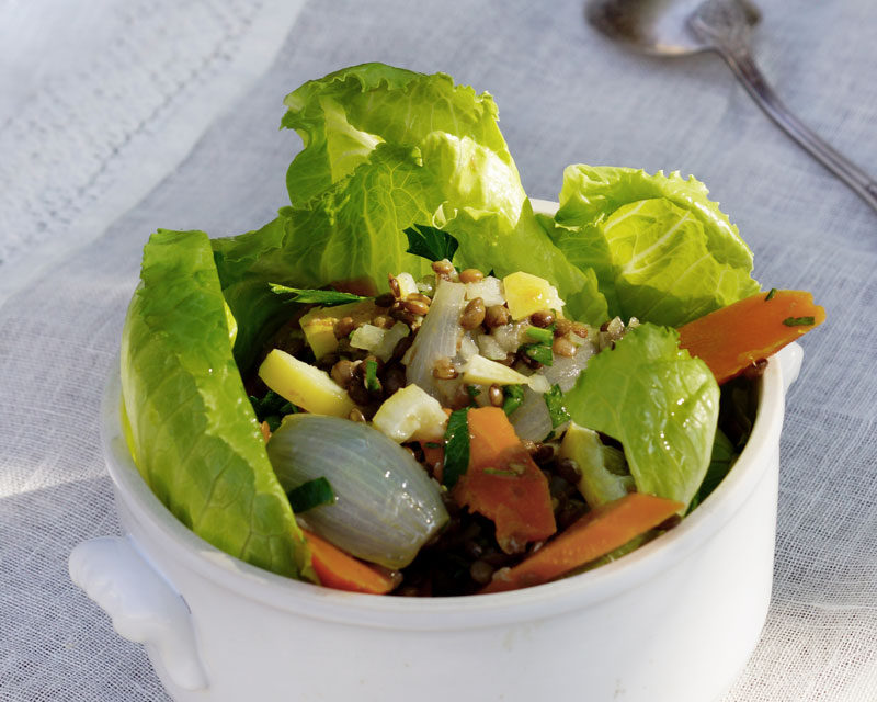 salade-de-lentille-a-lail-des-ours