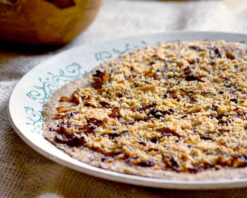 tarte oignon mélange cajun cook