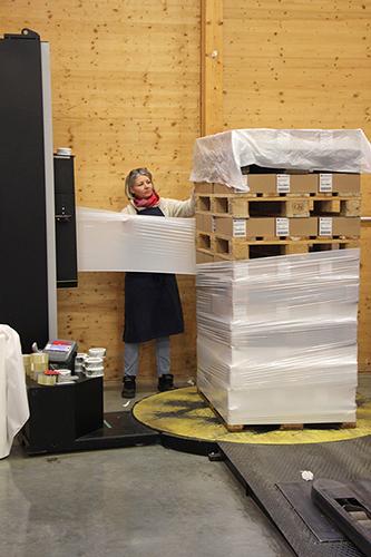 Emballage Plastique Film Palette Audrey Arcadie