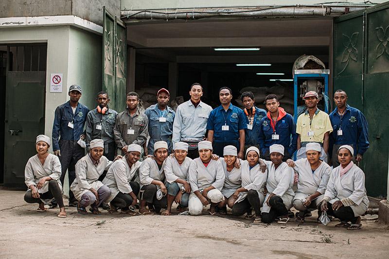 Equipe Phael Flor Madagascar Epices Bio