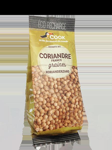 Cook Eco Recharge Coriandre Graines 35g 600x400