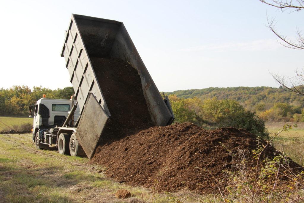 compost biodéchet Ferme Arcadie