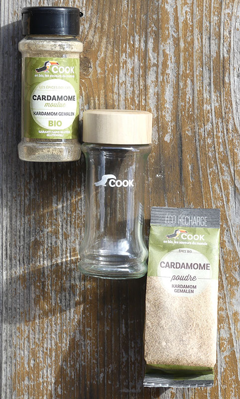 Cardamome Verre PET Eco Recharge 800x482
