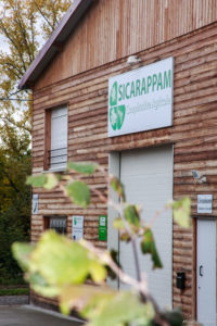 Bâtiment coopérative SICARAPPAM photo Maxime Beaufey